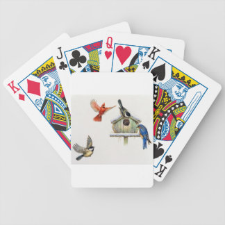 WinterBirdhouse Poker Karten