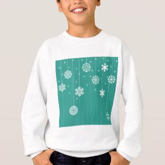 Winterhintergrund Sweatshirt