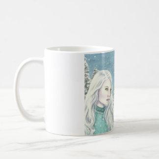 """WinterRoyals"" durch Deanna Bach Kunst Kaffeetasse"