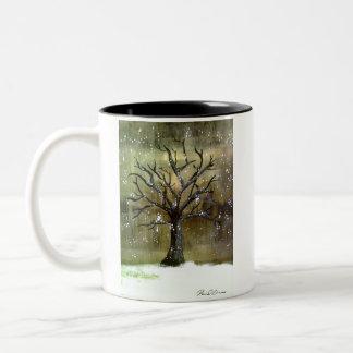 Wintertree Kaffee-Tasse Zweifarbige Tasse