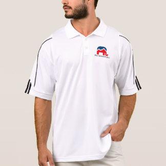 Wir glauben an Sie. Golf-Hemd Polo Shirt
