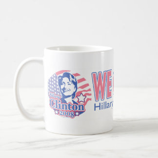 Wir können es tun! Hillary für Präsidenten Mug Tasse