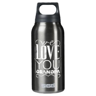 Wir Liebe Sie Großvater Isolierte Flasche