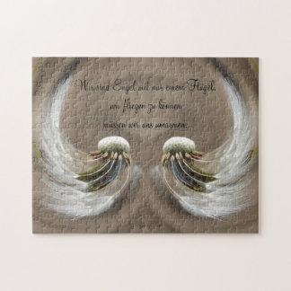 """""""wir sind Engel"""" by mysteryella Puzzle"""