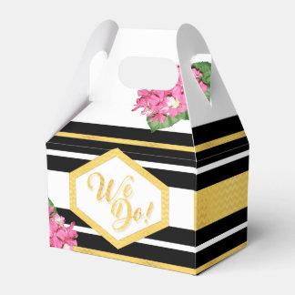WIR TUN BLUMEN Hochzeits-das kundenspezifische Geschenkschachtel