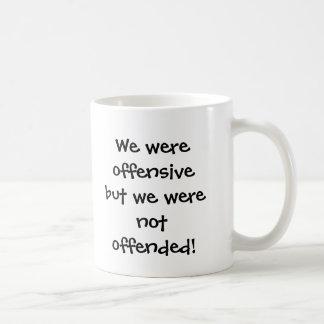 Wir waren offensiv, aber wir wurden nicht kaffeetasse