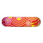 Wirbel und Starz Personalisiertes Skateboard
