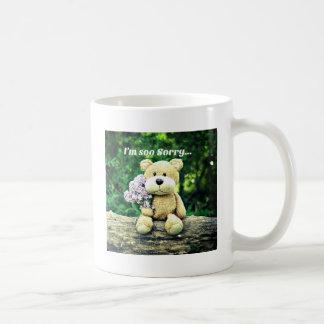 Wirbelbär ist traurig kaffeetasse