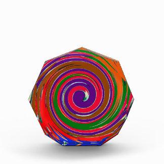 Wirbelwind-dekoratives fruchtiges acryl auszeichnung