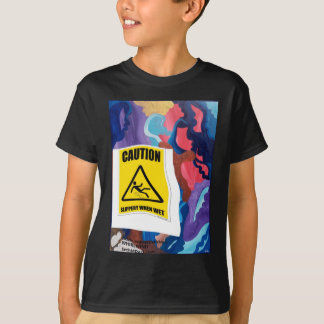 Wirbelwind glatt, wenn naß T-Shirt