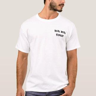 Wirkliche Abkommen-Fitness T-Shirt