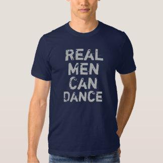 Wirkliche Männer können tanzen T-shirts