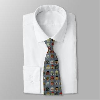 Wirklicher Anwesen-Agent Bedruckte Krawatte