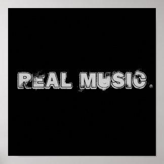 Wirkliches Music® Poster