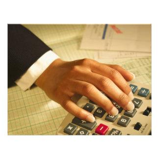 Wirtschaftsprüfungsfirma-Geschäfts-Flyer 21,6 X 27,9 Cm Flyer