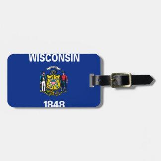 Wisconsin-Flagge Kofferanhängern