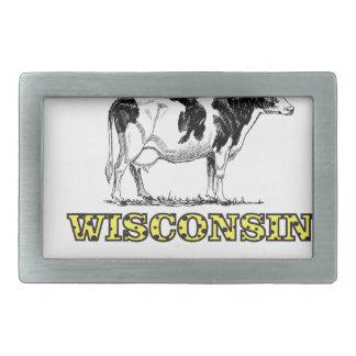 Wisconsin-Milchkuh Rechteckige Gürtelschnalle