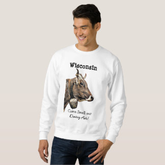 Wisconsin-Molkereiluft-Spaß-Shirt Sweatshirt