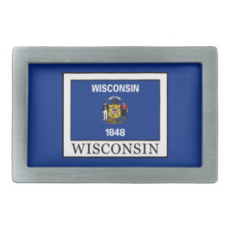 Wisconsin Rechteckige Gürtelschnalle