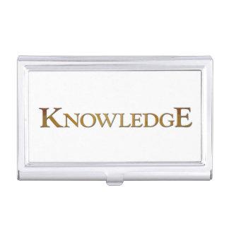 Wissen Visitenkarten-Schatulle