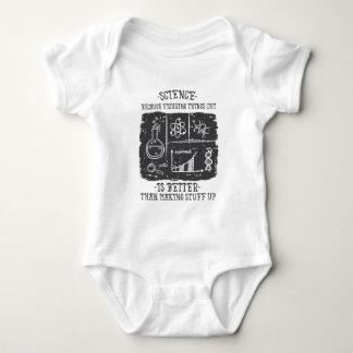 Wissenschaft ist besser baby strampler