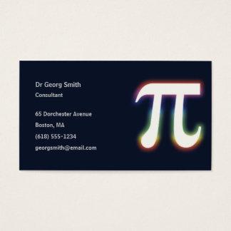 Wissenschaftler PU-Symbol-| Visitenkarte