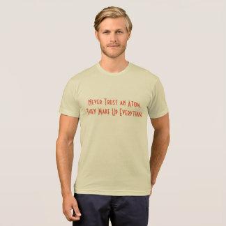 Wissenschafts-Wortspiel-T - Shirt