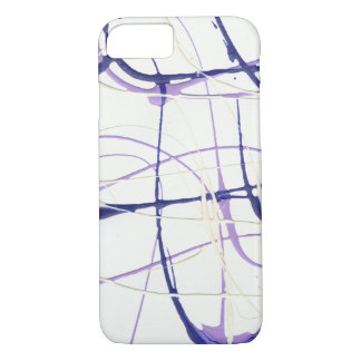 Wisteria-lila Farben-Spritzer iPhone/iPad Fall iPhone 8/7 Hülle