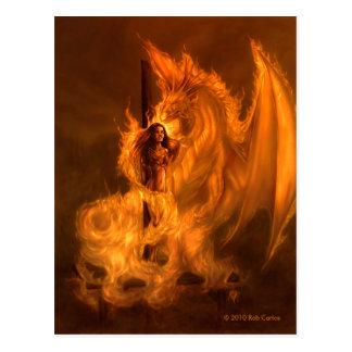 Witchburn Postkarte