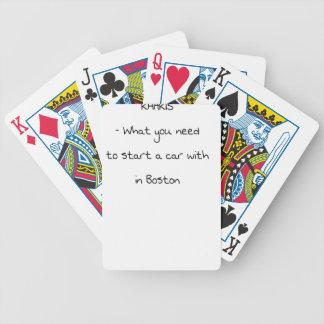 Witze von Boston Bicycle Spielkarten