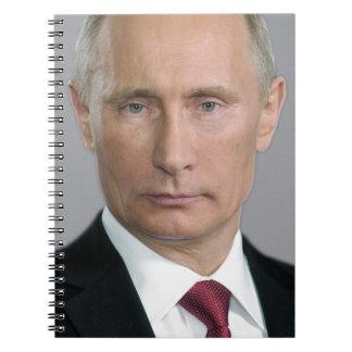 Wladimir Putin Spiral Notizbücher