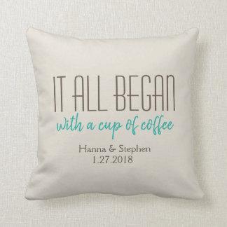Wo aller es tadelloses Liebe-Geschichten-Kissen Kissen
