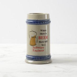 Wo es Bier - Software Engineer gibt Bierglas