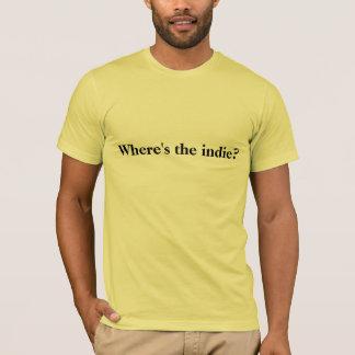 Wo ist der Indie? T - Shirt