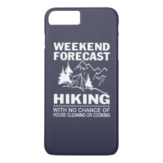 Wochenende prognostiziertes Wandern iPhone 8 Plus/7 Plus Hülle