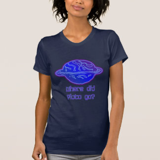 Wohin ging Pluto? T-shirt