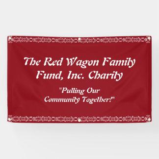 Wohltätigkeit-Ereignis-Fahne personifizieren Banner