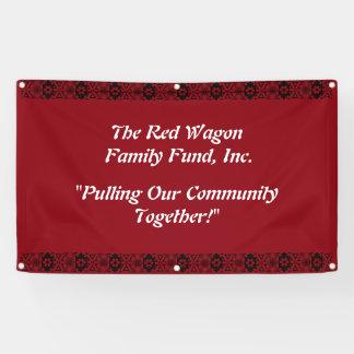 Wohltätigkeit-Geschäfts-Werbungs-Fahne Banner