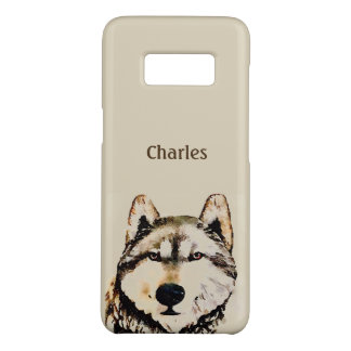 Wolf-Alpha-Name Case-Mate Samsung Galaxy S8 Hülle