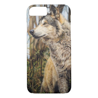 Wolf iPhone 7 Hülle