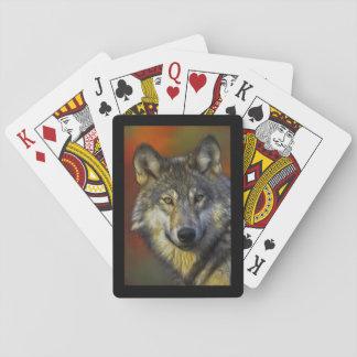 Wolf-Klugheit Spielkarten