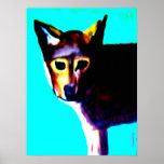 Wolf-Kunst Posterdrucke