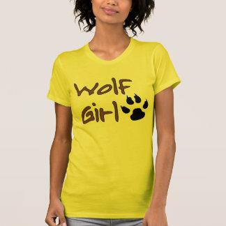 Wolf-Mädchen T-Shirt