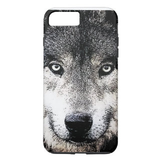 Wolf mustert iPhone 7 Plusfall iPhone 7 Plus Hülle