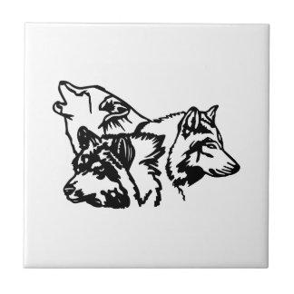 Wolf-Satz-Kontur Keramikfliese