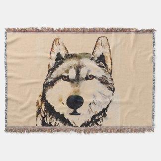 Wolf-Uhr Decke
