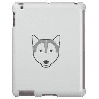 Wolf weißer ipad Kasten iPad Hülle