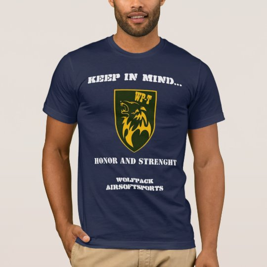 wolfpack honor and strenght T-Shirt