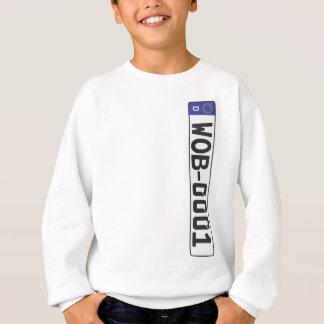 Wolfsburg-Kfz-Kennzeichen Sweatshirt