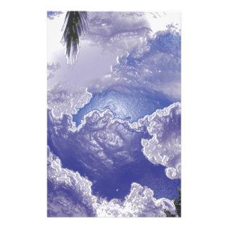 Wolken nach dem Regen Briefpapier